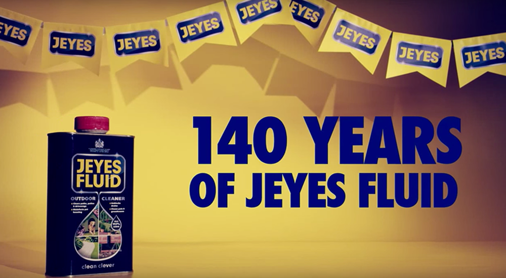 140 Years Of Jeyes